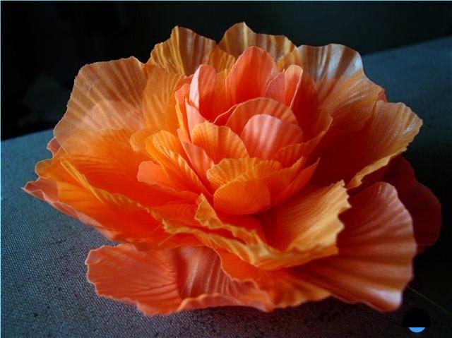 Декоративные цветы своими руками из ткани