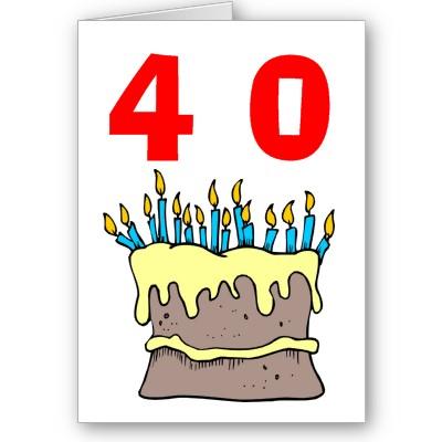 Поздравление с 40 ка летием мужчину