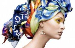 Как красиво завязать платок на голове?