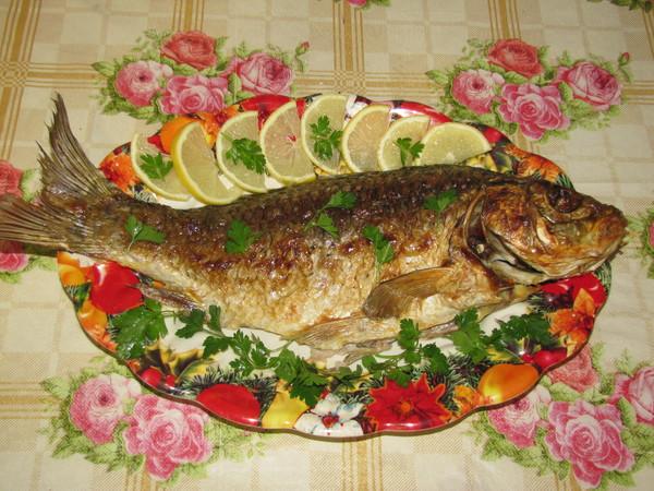 Блюда из рыбы в фольге порционные