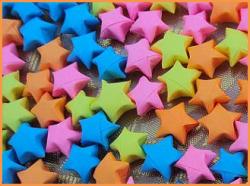 Как сделать звезду из бумаги?