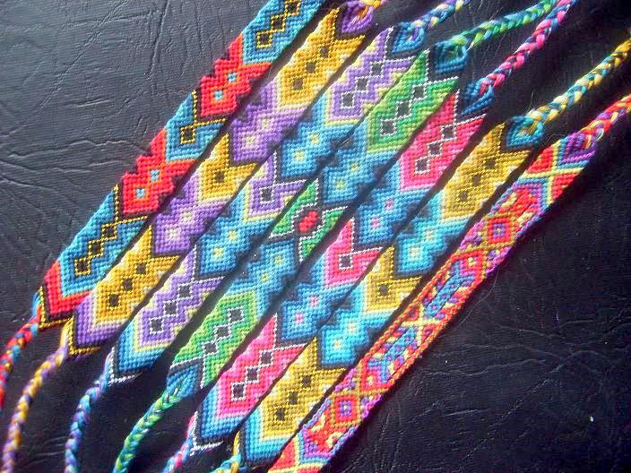 Как сделать фенечку для начинающих из мулине