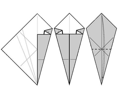 Как сделать кунай из бумаги?