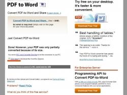Как из pdf сделать word?