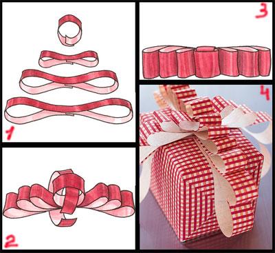 Как сделать бантик из бумаги?