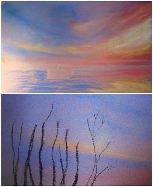 Как научится рисовать сухой пастелью