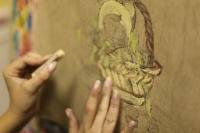Как рисовать пастелью?