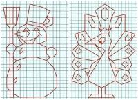 Малювати по клітинках в зошиті