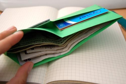 Как сделать кошелёк из бумаги своими руками видео для детей