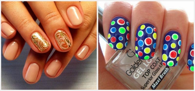 Краски для дизайна ногтей на водной основе