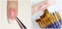 Как пользоваться акриловыми красками для ногтей?