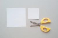 Белый цветок из бумаги своими руками